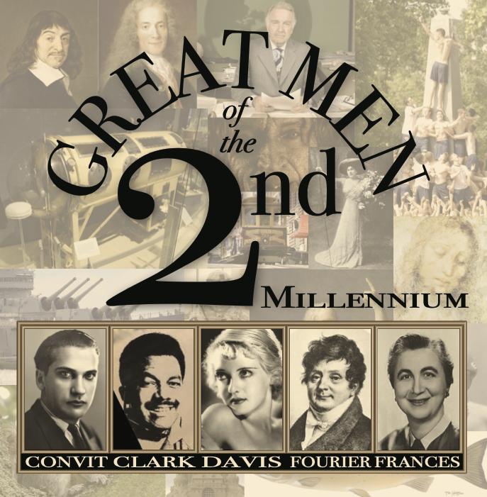 Lee Chapman Album Great Men of the Second Millennium
